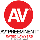 AV Preeminent - Rated Lawyers