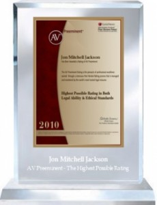 "Lisa Wilson and Mitch Jackson Receive Top ""AV"" Ratings by Martindale-Hubbell"