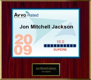 "Avvo Rating- ""Superb"" 10.0 out of 10.0"