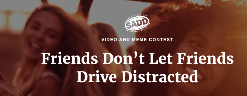 Friends Don't Let Friends Drive Distracted